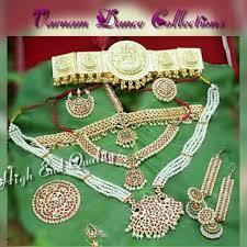 bharatanatyam jewellery set painted sarees wholesaler from