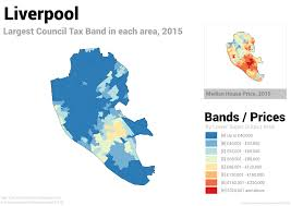 these five maps prove it u0027s time to reform council tax in england