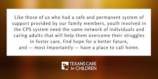 thanksgiving is about a place to call home texans care for children