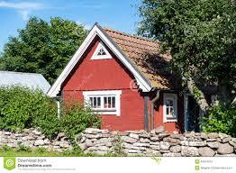 old swedish farmhouse stock photo image 73656090