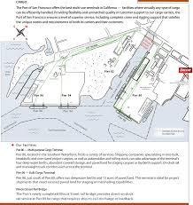 San Francisco Terminal Map by Cargo Breakbulk Project Bulk Port Of San Francisco