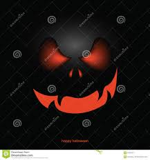 halloween pumpkin mask background stock vector image 95597371