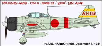 25 pearl harbor raid akagi u0027s fighters