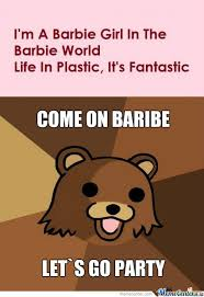 Barbie Girl Meme - rmx i m a barbie girl by grumpychris meme center