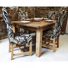 Patterned Dining Chairs Buy Harlequin Fabric Dining Set Four Chair Set Dining Room Chairs