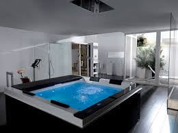 Home Spa Style Jacuzzi With Therapeutic Water Jets And Built In - Home spa furniture