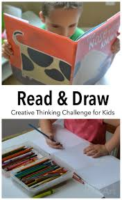 Challenge Up Your Nose Read And Draw With The Nose That Knows A Creative Thinking