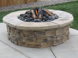 backyard stone fire pit cool wooden burning fire pits backyard fire pits ideas pavestone