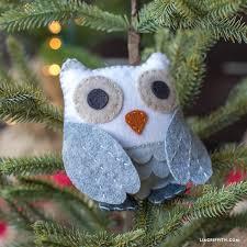 felt owl stuffie lia griffith