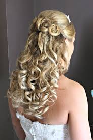 thick hairstyle ideas wedding hairstyles ideas three small buns curly half up wedding