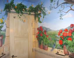 garden wall painting designs at home interior designing