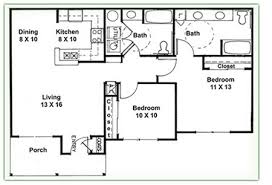 two bedroom two bath house plans interesting design 2 bed bath house plans small 1 homes zone
