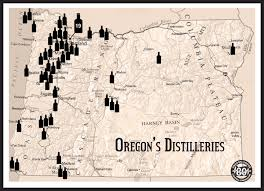 State Of Oregon Map by Oregon Liquor Control Commission Starting Your Own Craft Distillery