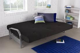 furniture futon beds at walmart mainstays futon black leather