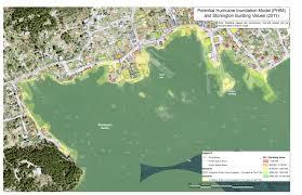 Hurricane Map Stonington Flood Insurance Maps