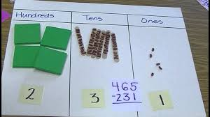 chapter 3 3 digit subtraction without regrouping youtube