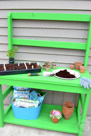 Inexpensive Potting Bench by 1412 Best Backyards You Can Build Outside The House Images On