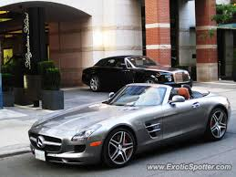 mercedes toronto mercedes sls amg spotted in toronto canada on 08 30 2012 photo 2
