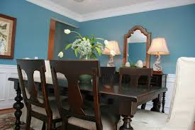 Leather Tufted Chairs Traditional Formal Dining Room Ideas Brown Varnished Teak Wood