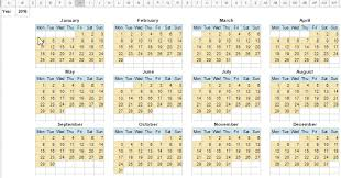 calendar template in google sheets monthly and yearly