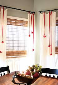 Christmas Kitchen Curtains by Curtain Ideas For Christmas Decorate The House With Beautiful