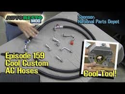 cool hoses make classic car ac custom hoses with mastercool air conditioning