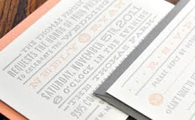 Wedding Invitations Dallas Elefant Press A Letterpress Print Shop Located In Dallas Texas