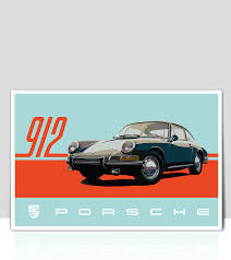 Porsche 911 Decals - car decals posters window decals flags t shirts the air factorcar