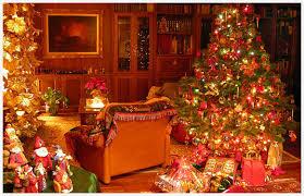 Xmas Home Decorations Christmas House Wallpaper Wallpapersafari