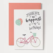 bicycle birthday card lilbibby com