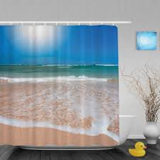 curtains ocean themed bathroom sets coastal wall decor ideas diy