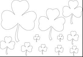 coloring pages online games free for teens shamrock printable