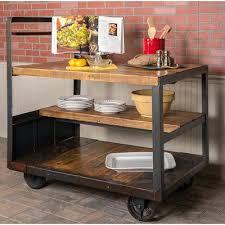 chariot cuisine chariot de cuisine en bois affordable chariot de cuisine en bois