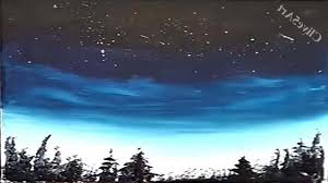 easy landscape paintings for beginners easy night sky acrylic