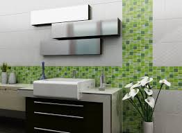 green mosaic tile in the bathroom design u2013 house photos