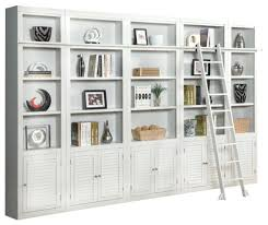 Wall Bookcases With Doors Bookcase With Doors White Hercegnovi2021 Me