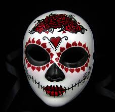 day of the dead masks true ways mask day of the dead custom