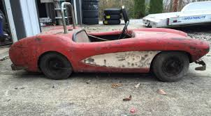 solid axle corvette 1957 corvette convt axle go cart amusement park ride