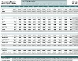 Small Business Accounting Excel Template Business Expense Budget Office Templates