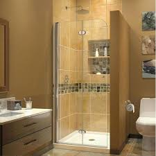 Shower Doors Reviews Glass Shower Door Aquafold29522x7222clearglassshowerdoor Dreamline