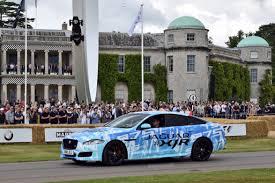 jaguar xjr 575 teasing au goodwood festival of speed automotiv