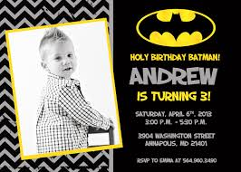 Design For Birthday Invitation Card Batman Birthday Invitations Kawaiitheo Com