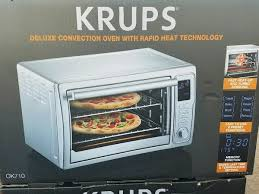 Used New Krups OK710 Deluxe Convection Toaster Oven for for sale in