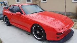 1987 porsche 944 sale 1987 porsche 944 3 0l black 968 turbo rs wing konis camber