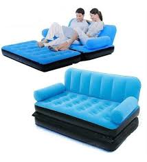 bed shoppong on line buy velvet inflatable bestway sofa cum bed air bed couch blue