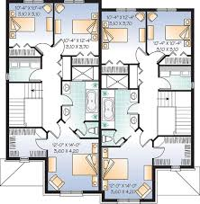 family floor plans multi family plan 65339 at familyhomeplans com