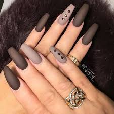 best 25 brown nails ideas on pinterest fall nails fall almond