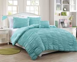 aqua ruffle comforter ideas aqua bedding sets design 16607