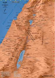 Isreal Map Map Of Ancient Israel Map Of Israel In New Testament Times