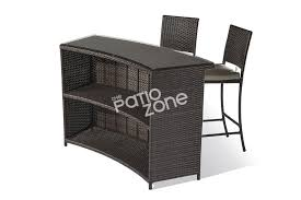 Rattan Bar Table Bar Sets Archives Patio Zone Usapatio Zone Usa